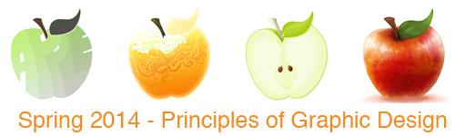 Spring 2014 Principles of Graphic Design